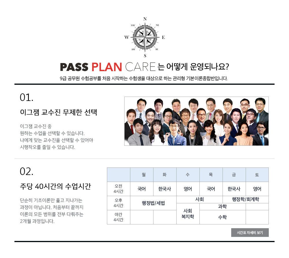 pass plan care의 운영방법
